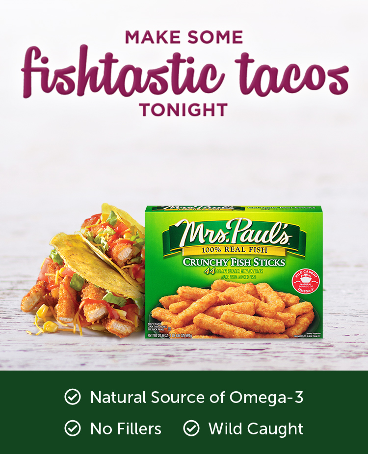 Make some fishtastic tacos tonight